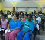 Some of the community members who attended the meeting in Ward 10.
