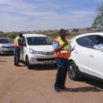 "Municipal officials busy during ""Operation Vasvat""."