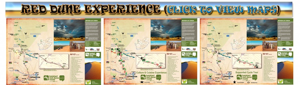 RED DUNE EXPERIENCE - MAPS